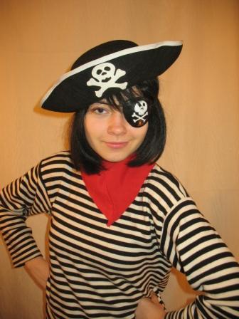 Костюм пирата для женщины своими руками на скорую руку 22